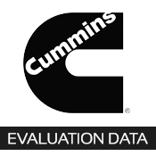 cummins evaluation data