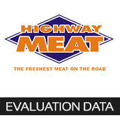 highway meat evaluation data
