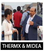 Showcasing at Midea Headquarter